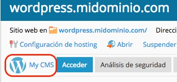 Recuperar el password de WordPress